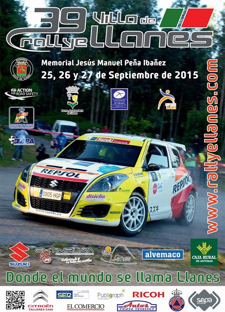Rallye Villa de Llanes 2015